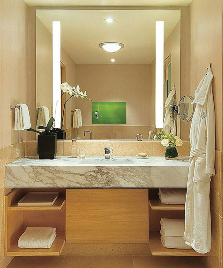 Fusion Lighted Mirror TV By Electric Mirror