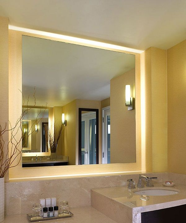 Serenity Lighted Mirror - Electric Mirror