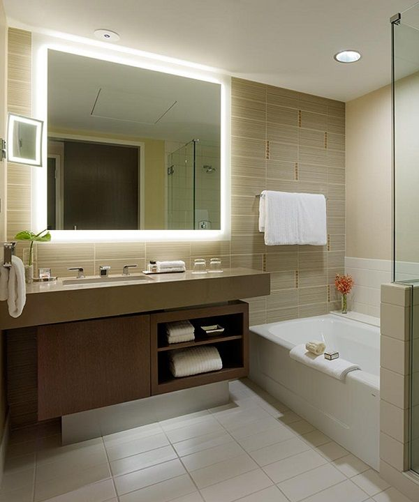 Silhouette Lighted Mirror