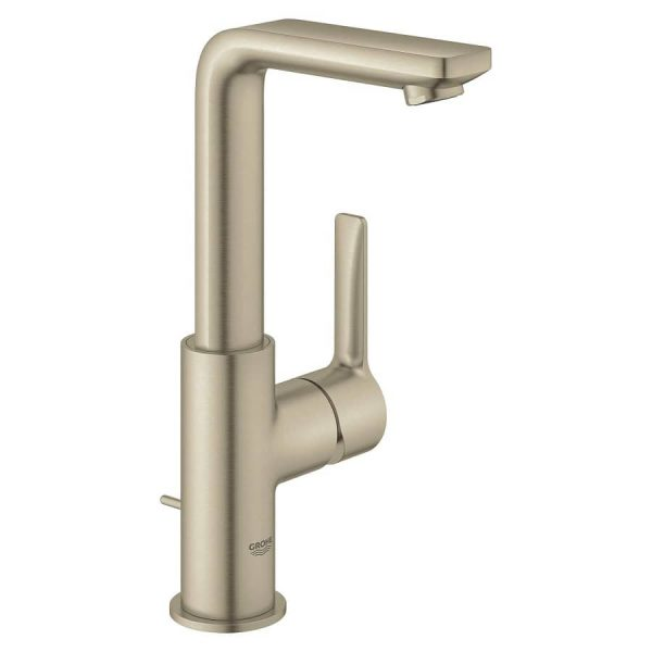 Grohe 23825ENA Lineare Single-Handle Bathroom Faucet Brushed Nickel Infinity Finish