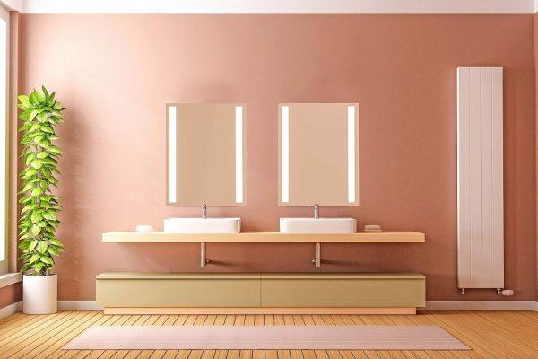 Sidler Sidelight Mirrored Bathroom Medicine Cabinet