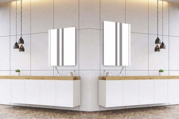 Sidler Modello Mirrored Bathroom Medicine Cabinet