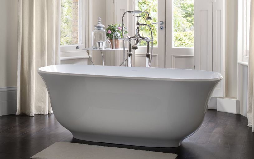 victoria + albert amiata freestanding bathtub | bliss bath and kitchen