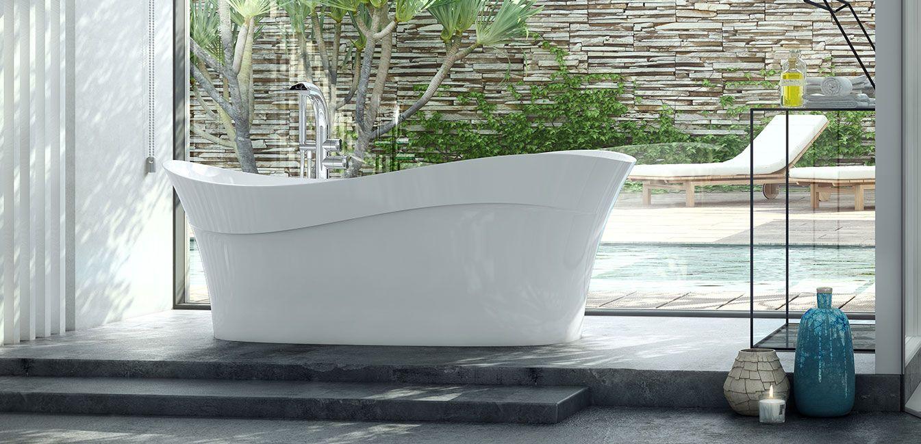 Victoria Albert Pescadero Freestanding Bathtub Bliss
