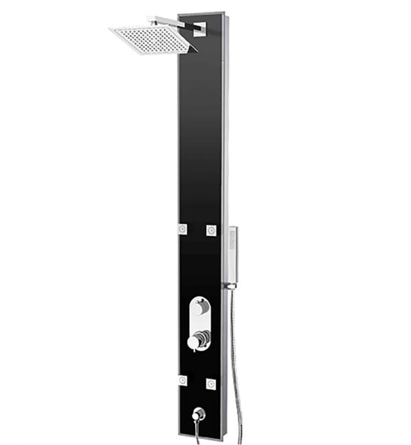 Tenzo ETZG-53-BK Shower Column