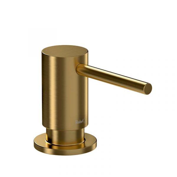 Riobel SD8BG Soap Dispenser Brushed Gold