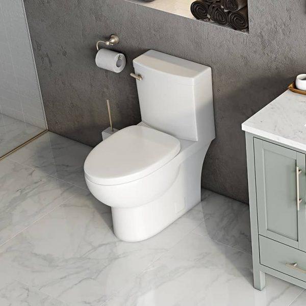 Icera CT-3240 Malibu II Rear Outlet Two-Piece Toilet