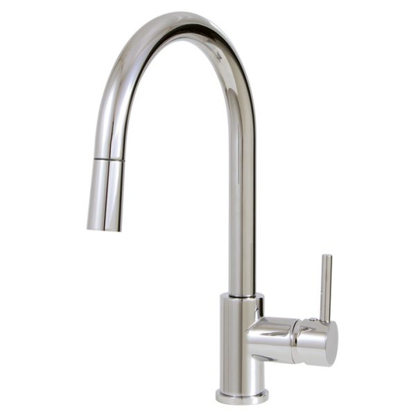 Aquabrass 3345N Pull-down single stream mode kitchen faucet