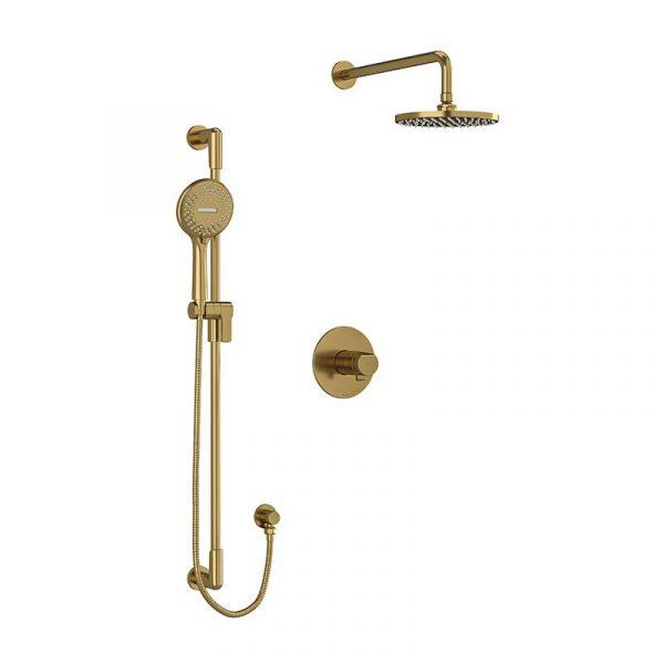 Riobel KIT#323PBBG Brushed Gold Shower Kit