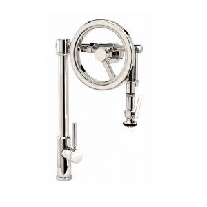 Waterstone Endeavor 5130 Wheel Pulldown Faucet