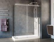 Fleurco NXV260R32L-25-40 Novara Plus Shower Door
