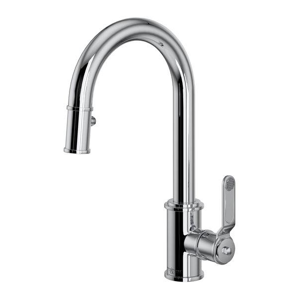 Rohl U.4543HT-APC-2 Pulldown Bar And Food Prep Faucet