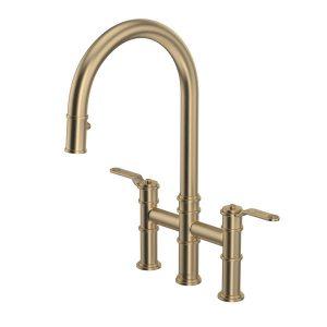 Rohl U.4549HT-SEG-2 Armstrong Bridge Kitchen Faucet