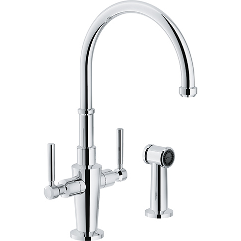 Franke Absinthe Single Hole Faucet with Sidespray FFS5200/5270/5220/5280