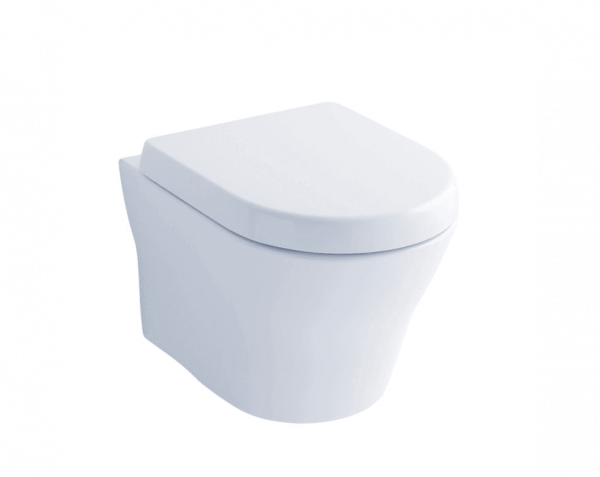 TOTO MH CT437FG#01 Wall-Hung Dual-Flush Toilet