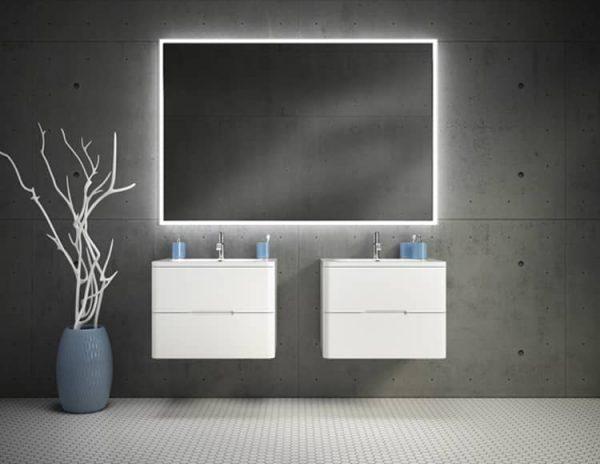 Fleurco Luna Halo Lighted Mirror