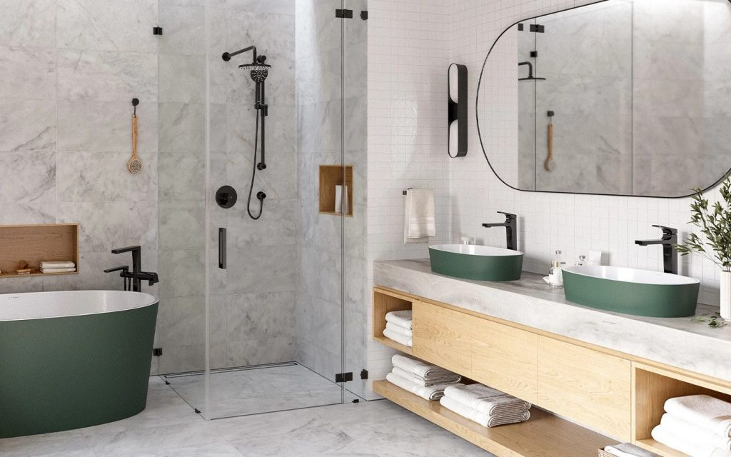 Riobel Bathroom ODE Collection In Black