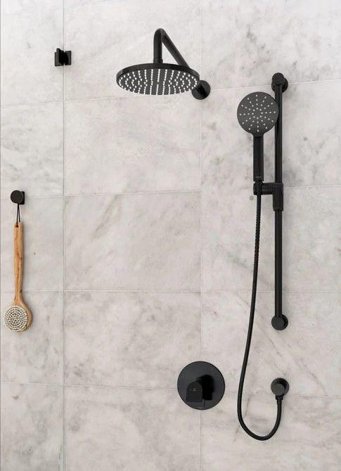Riobel Ode Shower Kit In Black